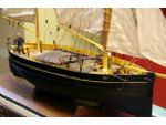A lovely model of Bee, a Cowes Ketch which was a local fishing boat.